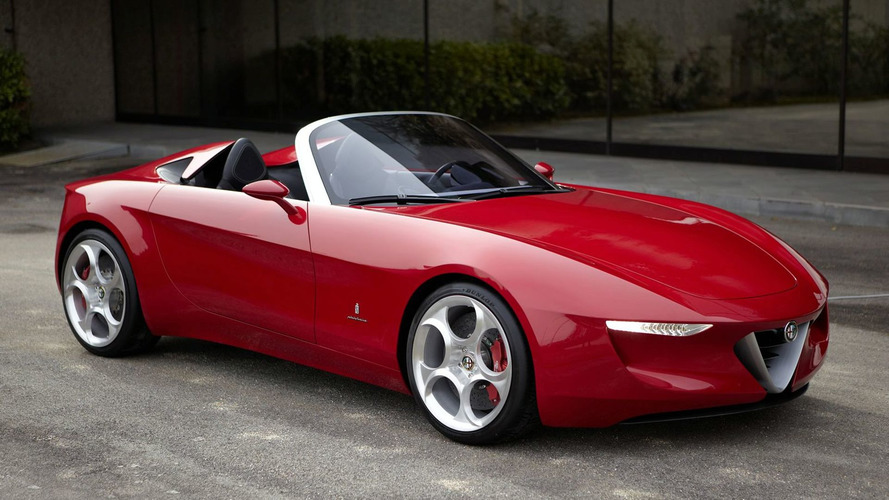 Alfa Romeo Spider details surface