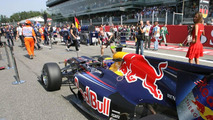Mark Webber (AUS), Red Bull Racing - Formula 1 World Championship, Rd 14, Italian Grand Prix, Sunday Pre-Race Grid, 12.09.2010 Monza, Italy