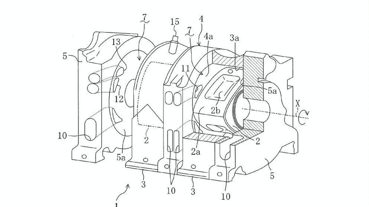 Patent Diagrams Reveal Direct Injection Mazda Renesis Rotary Engine First Combustion Diagram