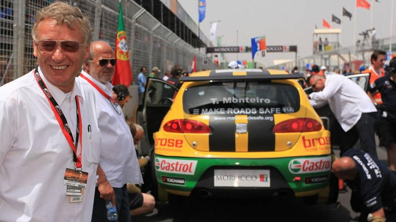 Herman Tilke, (GER), F1 circuits designer - WTCC, Marrakech, Morocco, Rd. 05-06, 02.05.2010