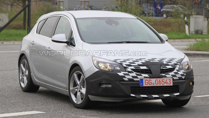 2011 Opel Astra GSI first spy photos