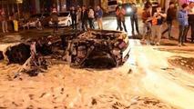 Lamborghini Gallardo fire