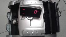 Mercedes-Benz-branded money counter with Zenvo ST-1 embossing