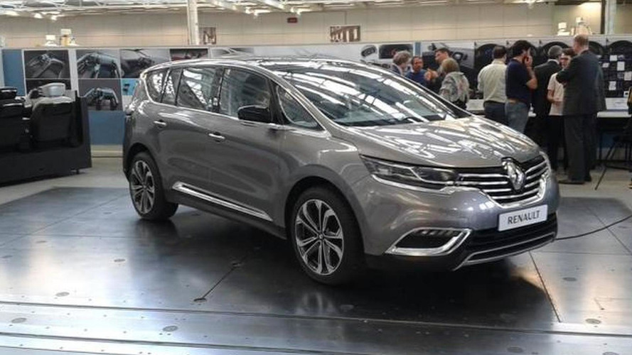 Renault Espace first official images released