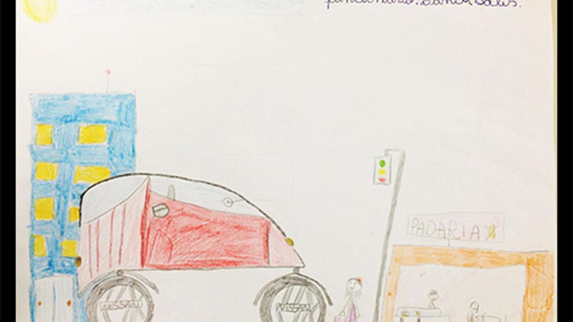 Nissan Turns Kid S Drawing Into Concept Cars