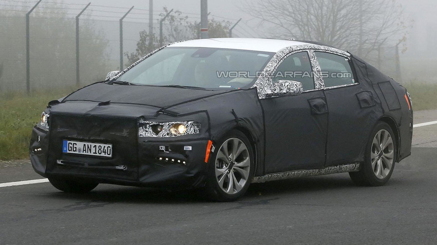 2016 Chevrolet Malibu spied up close in Germany