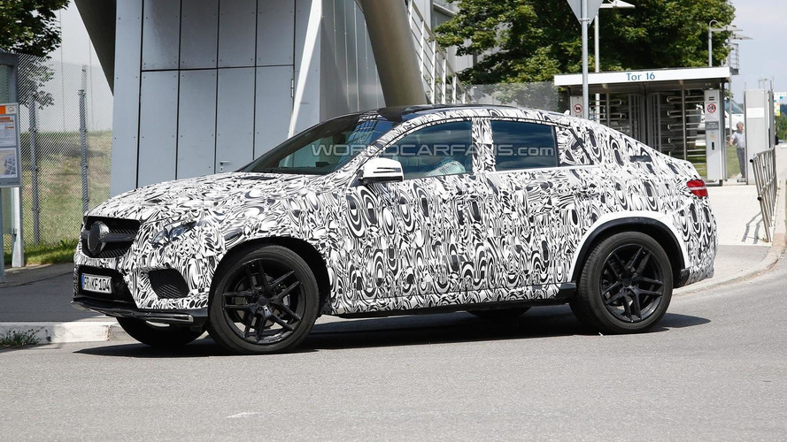 Mercedes-Benz ML Coupe spied ahead of next year's market launch