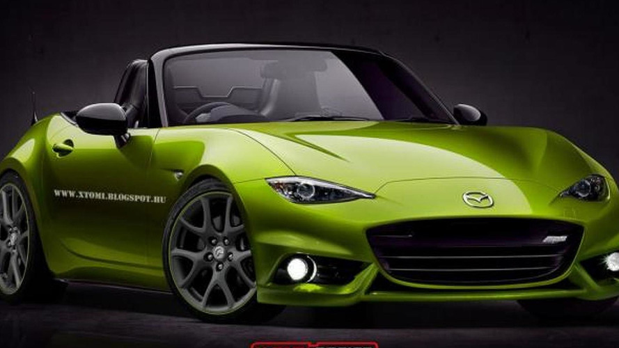 2016 Mazda MX-5 rendered as MPS model