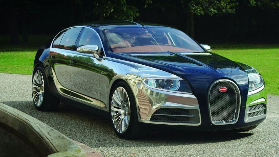 Four-door Bugatti still a possibility
