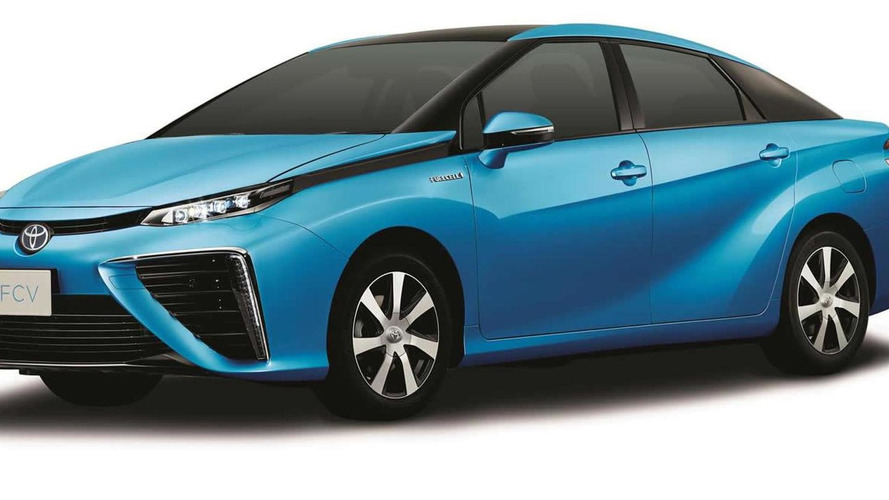 2015 Toyota FCV production design revealed