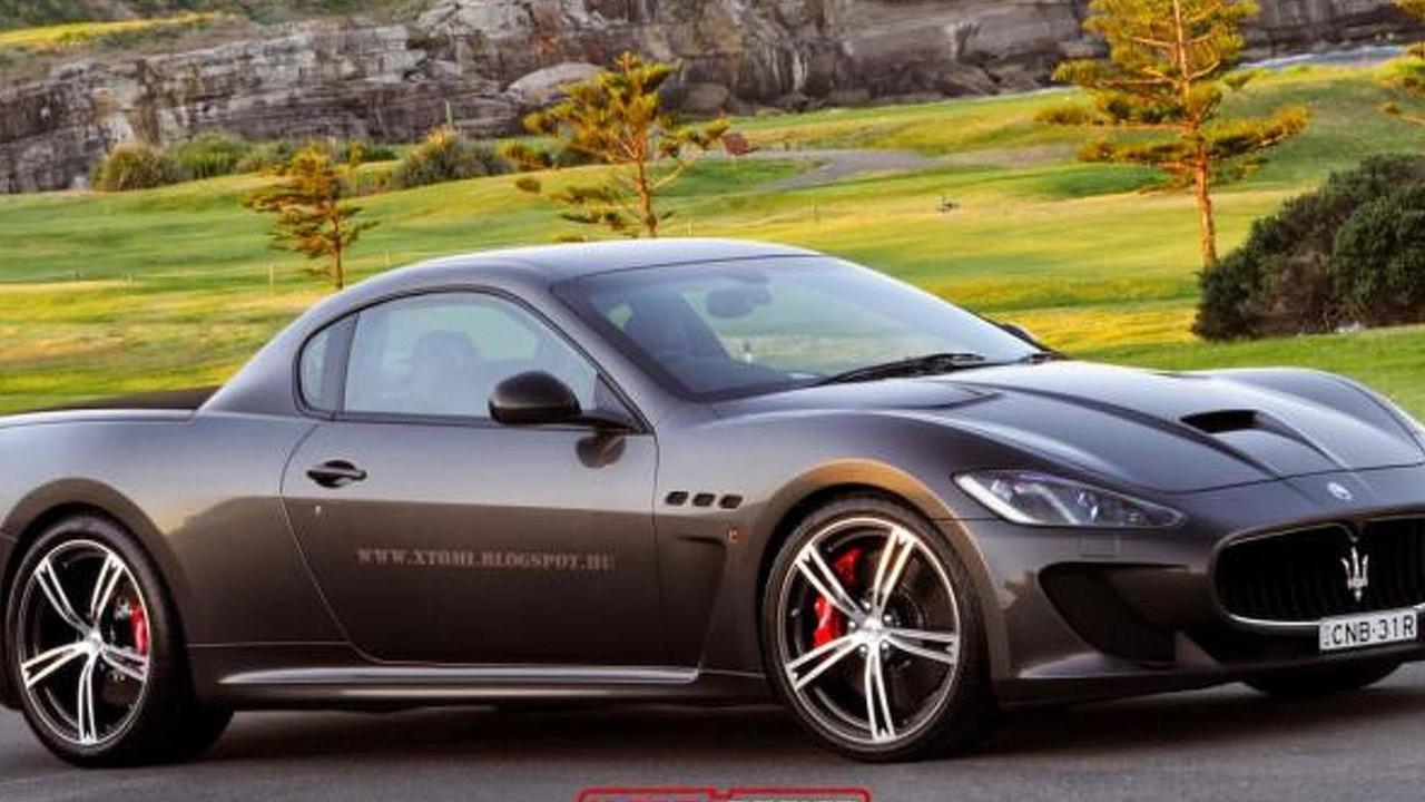 Maserati Granturismo Mc >> Maserati Granturismo Mc Stradale Pick Up Rendering X Tomi