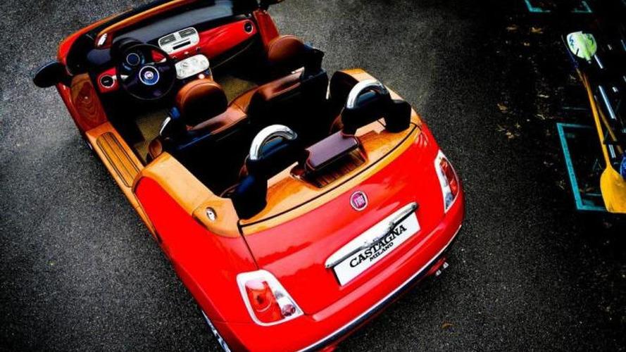 Castagna Milano unveils a true Fiat 500 convertible