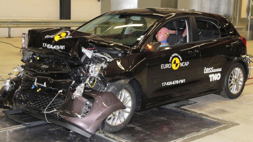 Crash Test Euro NCAP, 7 auto si meritano 5 stelle