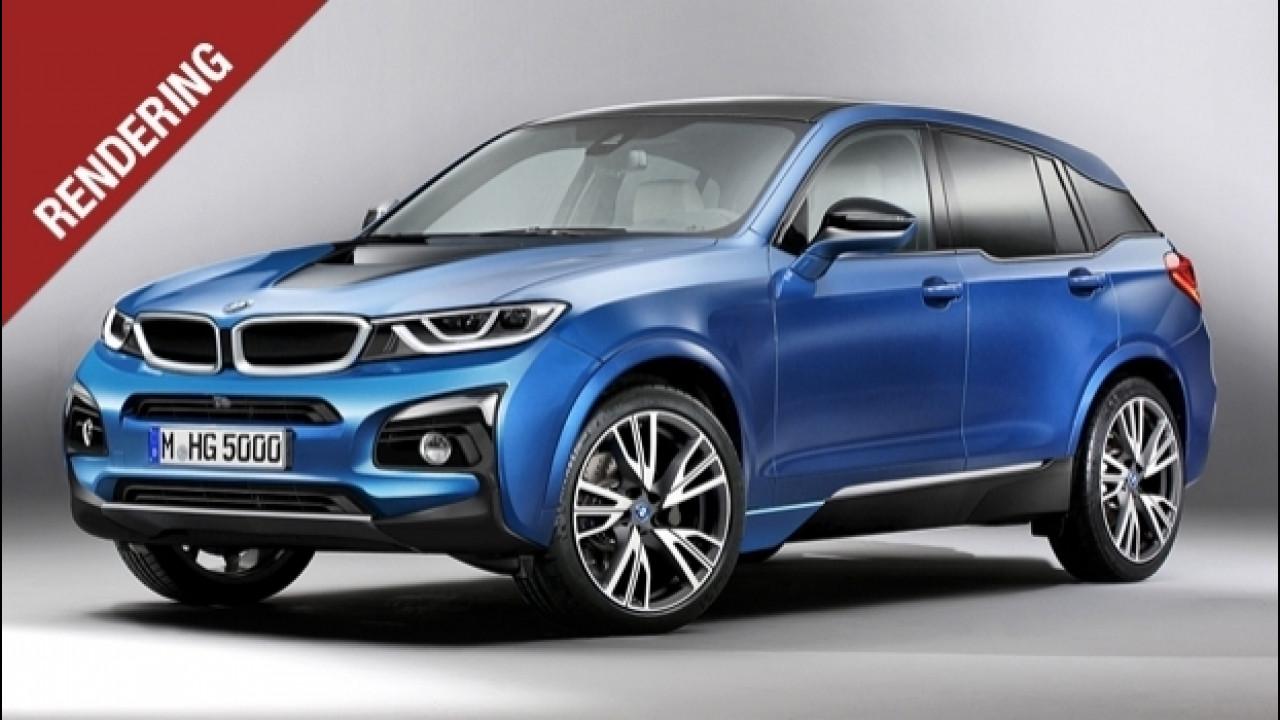 [Copertina] - BMW i5, il SUV elettrico di domani