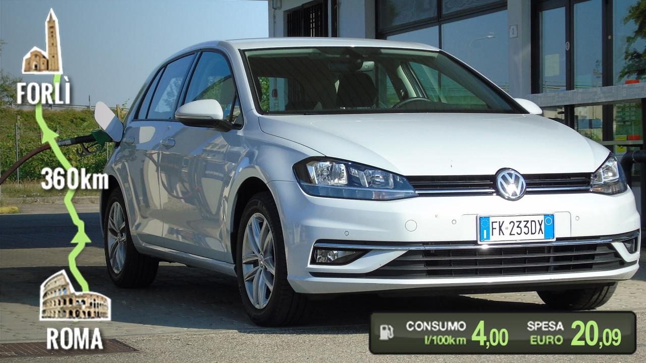 [Copertina] - Volkswagen Golf 1.0 TSI, la prova dei consumi reali