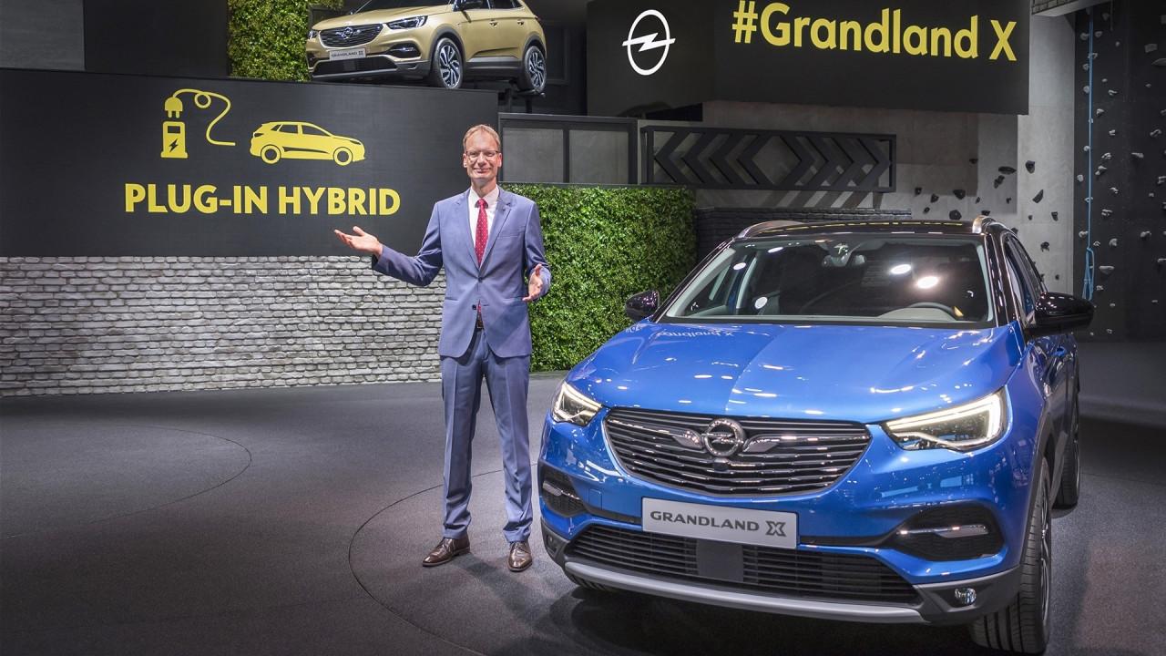 [Copertina] - Salone di Francoforte: Opel Grandland X sarà anche ibrida plug-in