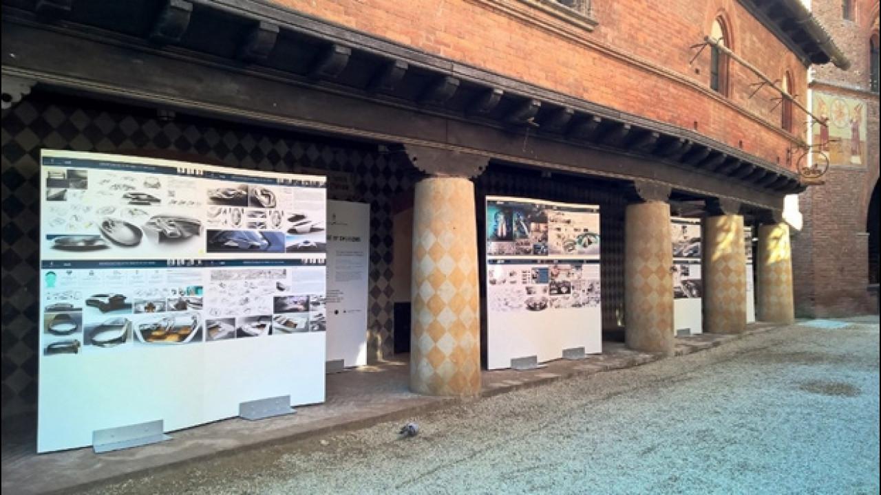 [Copertina] - Parco Valentino, l'auto del futuro è esposta al Borgo Medievale di Torino