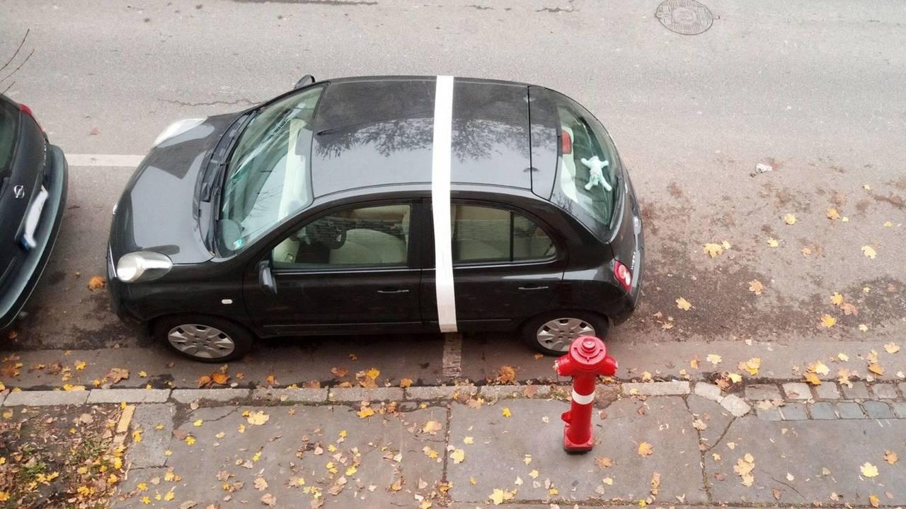 Szabálytalan parkolás