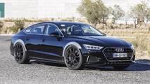 Audi RS 7 Sportback 2018 foto espía