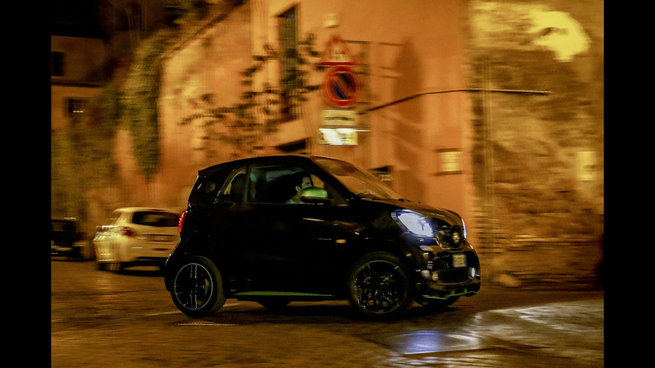 smart fortwo electric drive,