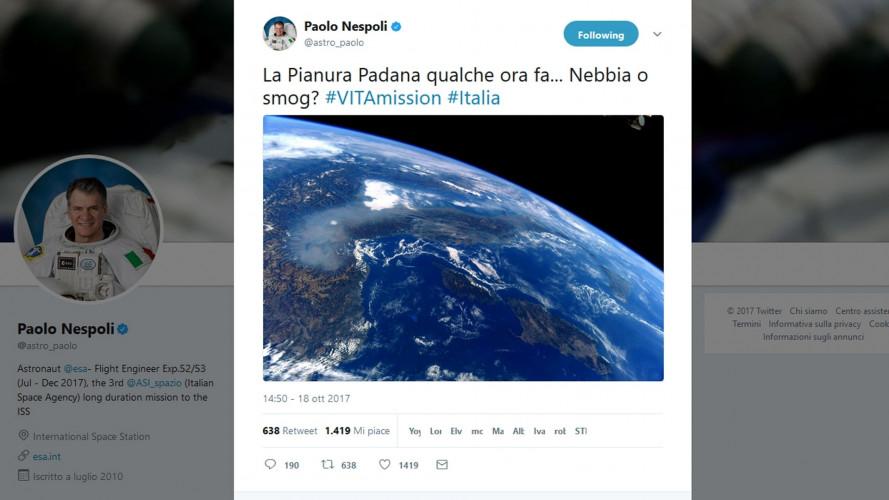 [Copertina] - Smog, l'emergenza si vede dallo spazio e scattano i blocchi del traffico