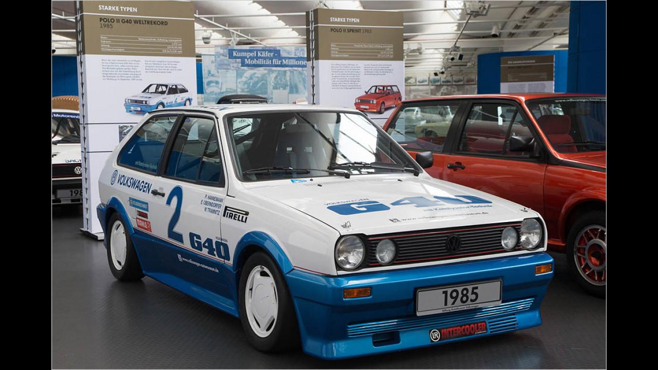 VW Polo G40 Rekordfahrzeug (1985)