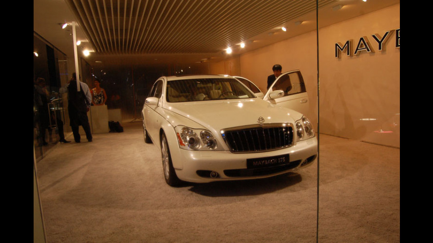Maybach al Salone di Parigi 2006
