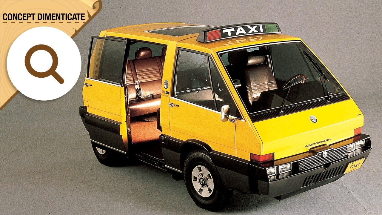 [Copertina] - Alfa Romeo New York Taxi, se l'auto pubblica è firmata Giugiaro