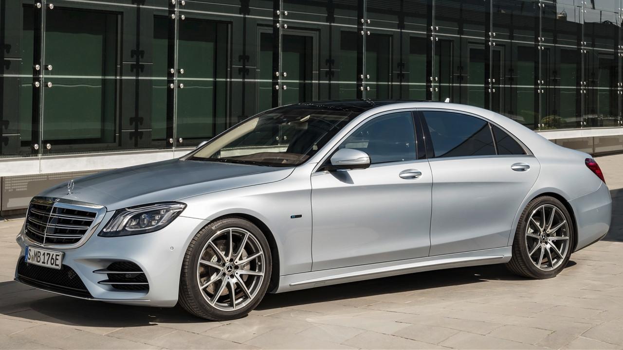 [Copertina] - Salone di Francoforte: Mercedes S 560 e, ibrida in prima classe