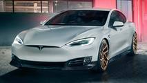Tesla Model S'e Novitec Modifiyesi