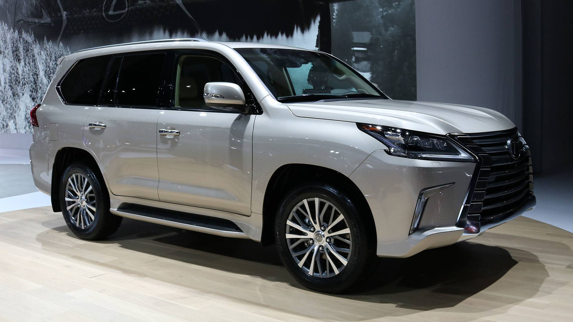 Two Row Lexus Lx 570 Carries Fewer Passengers To Fit More Stuff