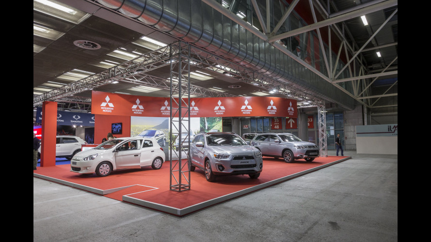Mitsubishi al Motor Show 2014