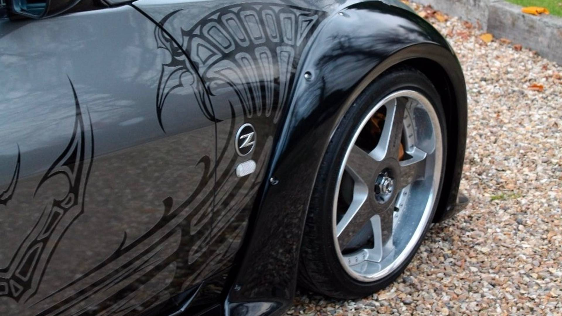 nissan 350z from tokyo drift is for sale in uk for $133k