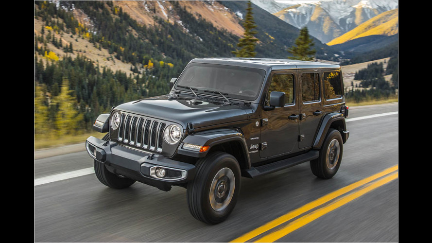Neuer Jeep Wrangler JL (2018) debütiert in Los Angeles