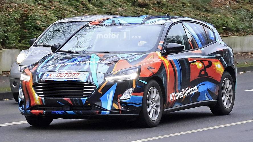 Ford Focus 2018, fotos espía