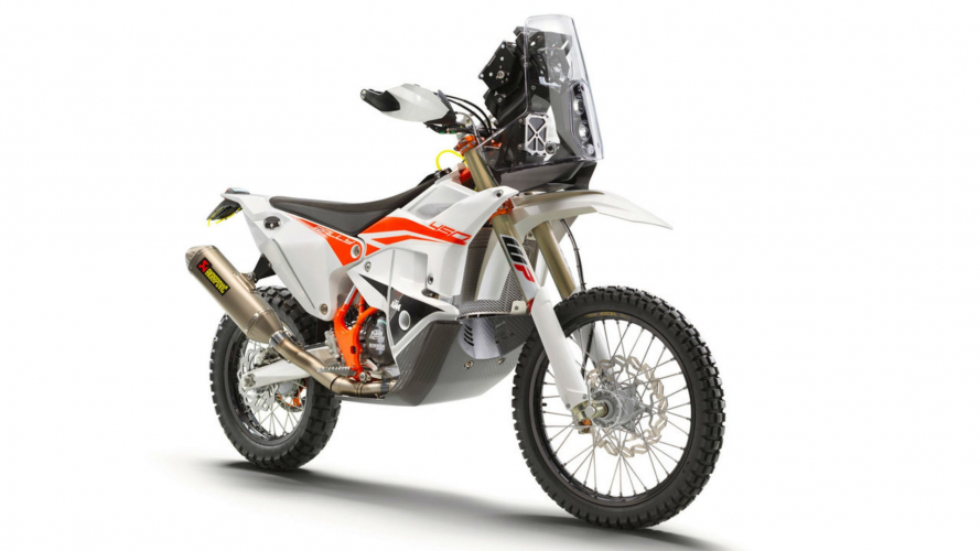 KTM, richiamo per la 450 Rally Replica 2019