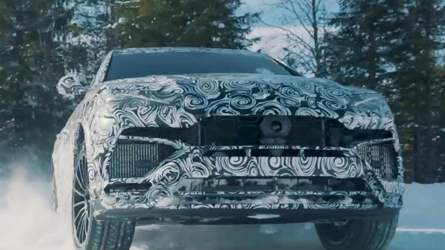 Lamborghini Urus, nuovo video teaser in modalità Neve