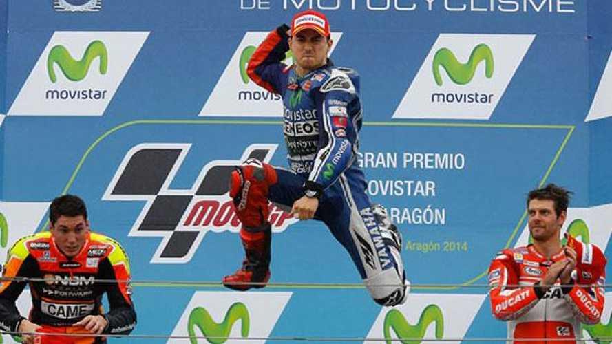 MotoGp 2014, Aragon, gara: 32esima vittoria in MotoGP per Lorenzo