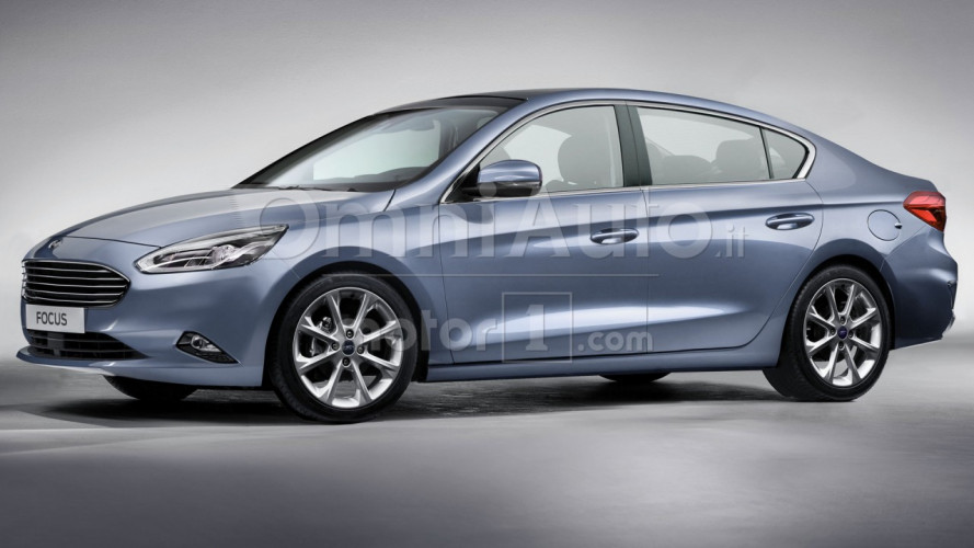 Ford Focus Sedan, la nuova generazione ha linee più filanti