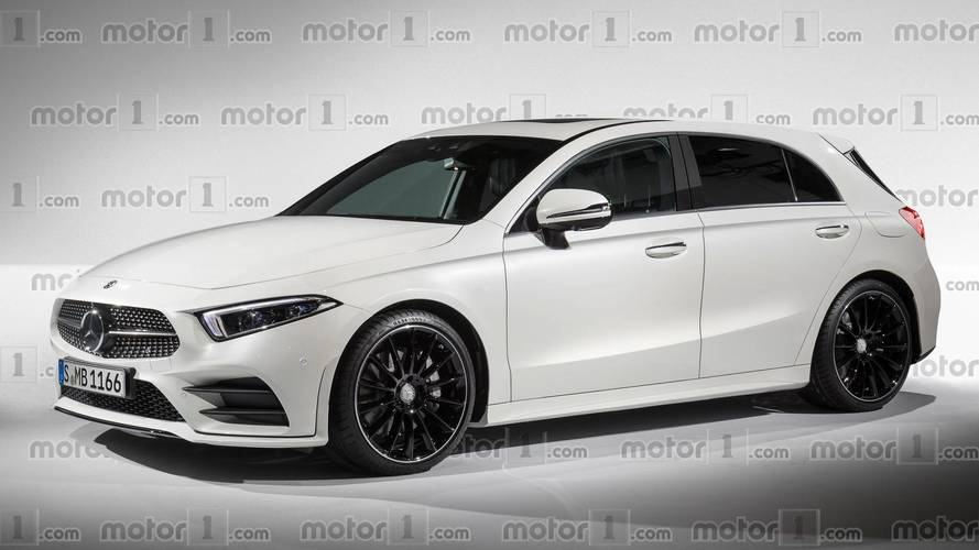 Mercedes A-Class Render Aims To Shake Up Compact Premium Segment