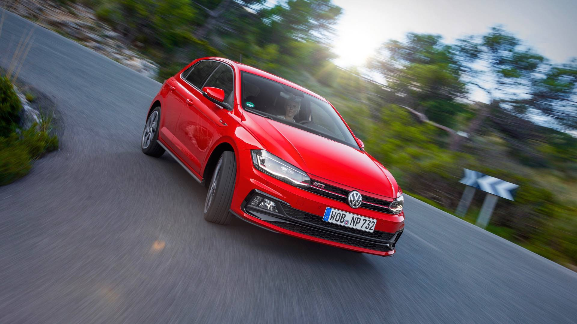 This Is What It S Like To Drive The New Vw Polo Gti At Night