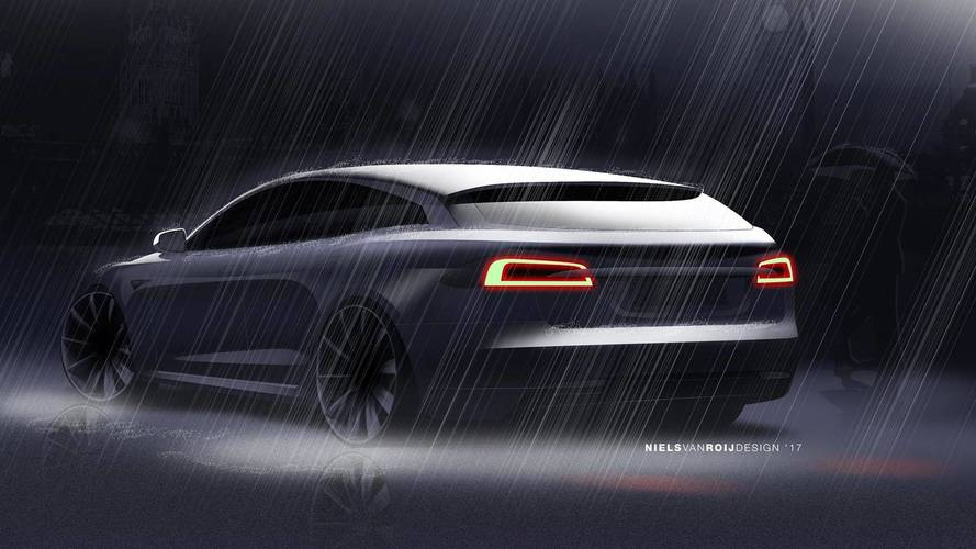 Niels van Roij Design Tesla Model S Shooting Brake