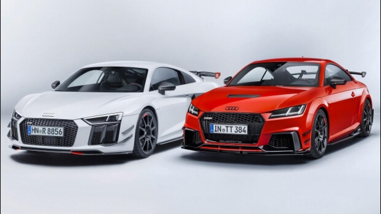 [Copertina] - Audi Sport Performance Parts, come migliorare le TT e R8