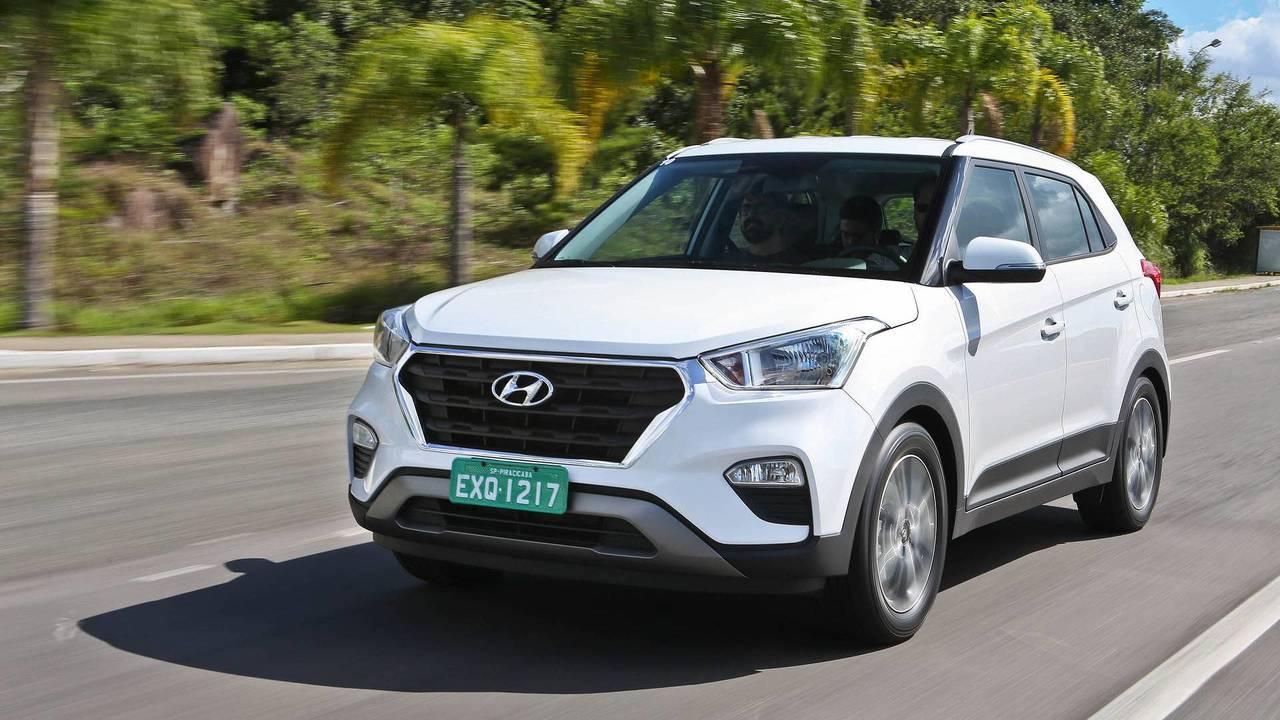 Hyundai Creta - 3 mil unidades por mês