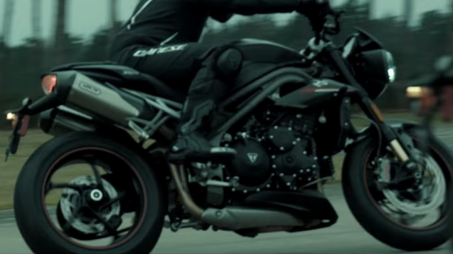 Nuova Triumph Speed Triple, il secondo video-teaser