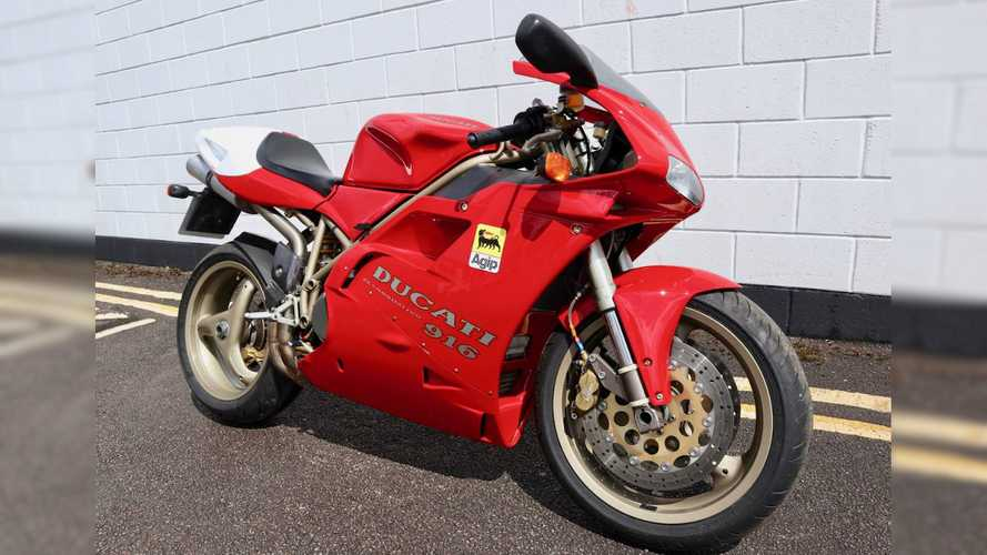 This Beautiful 1997 Ducati 916 Could Be Yours