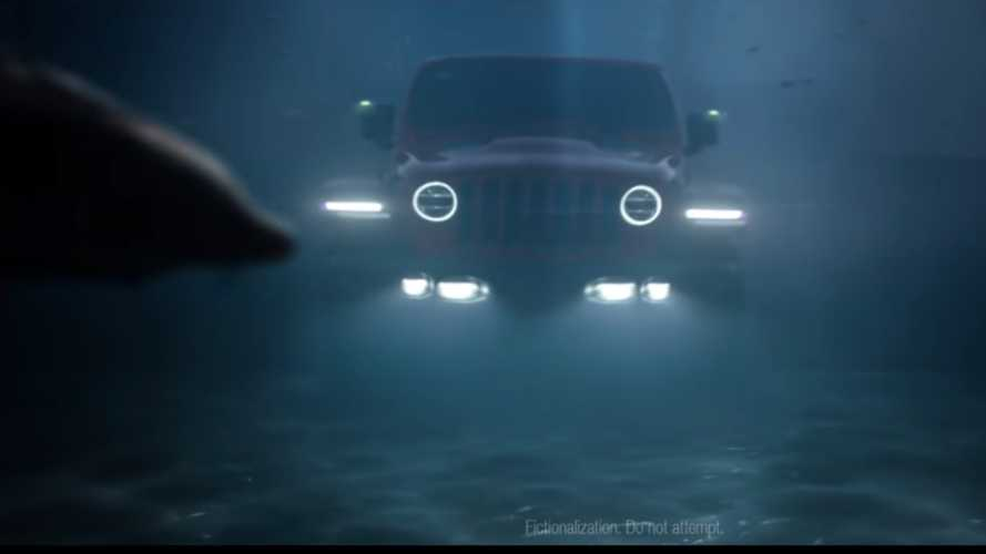 Jeep thinks all-electric Wrangler could double as submarine by 2030