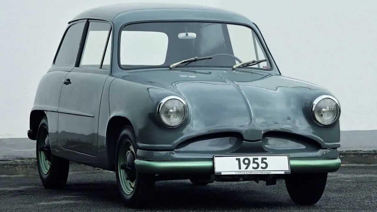 VW Beetle unseen prototype