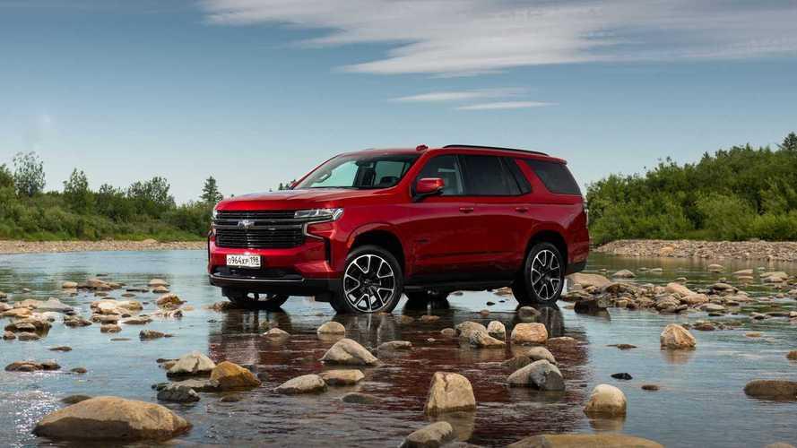 Chevrolet Tahoe – первый российский тест-драйв