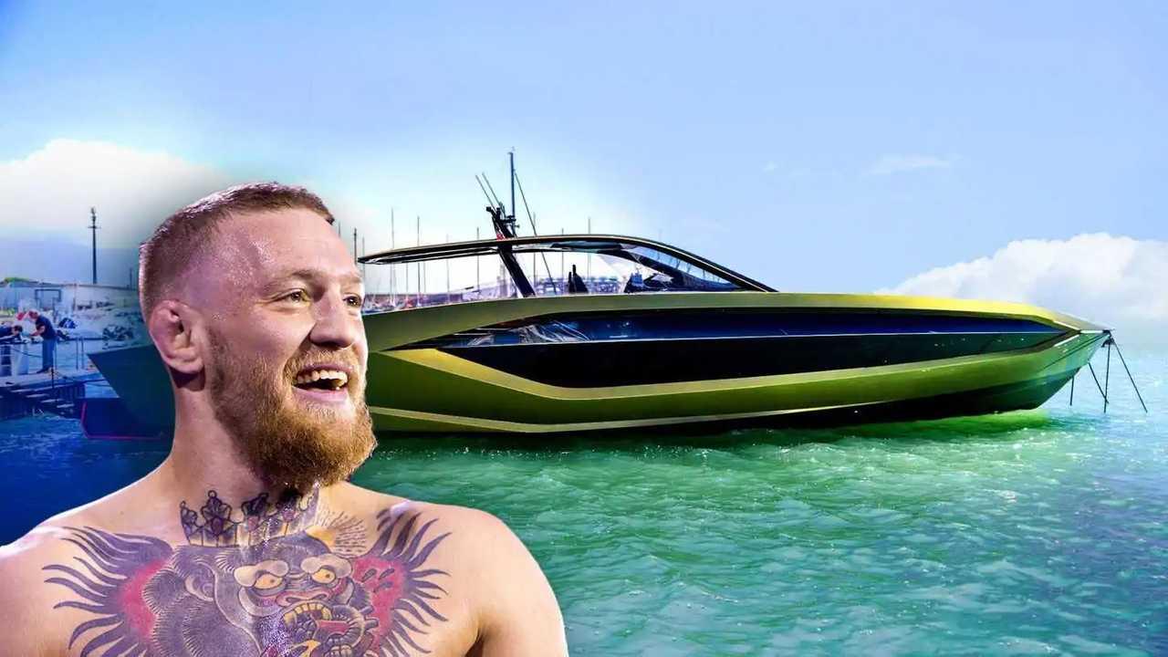 Conor McGregor compra lo yacht Lamborghini